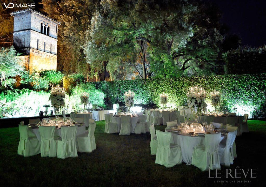 Matrimonio sotto le stelle a Villa Aurelia | Glam Garden Wedding Villa Aurelia