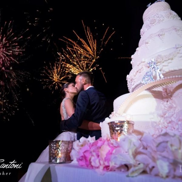 Diego Contento giocatore Bordeaux sposa Jessica a Roma