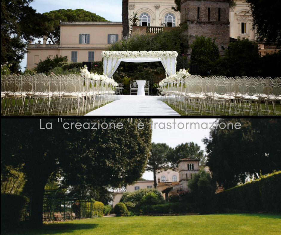 Wedding Location Villa Aurelia Rome
