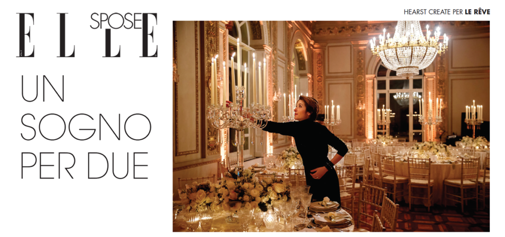 Elle Sposa magazine Elisa Orsetti Wedding Designer Roma