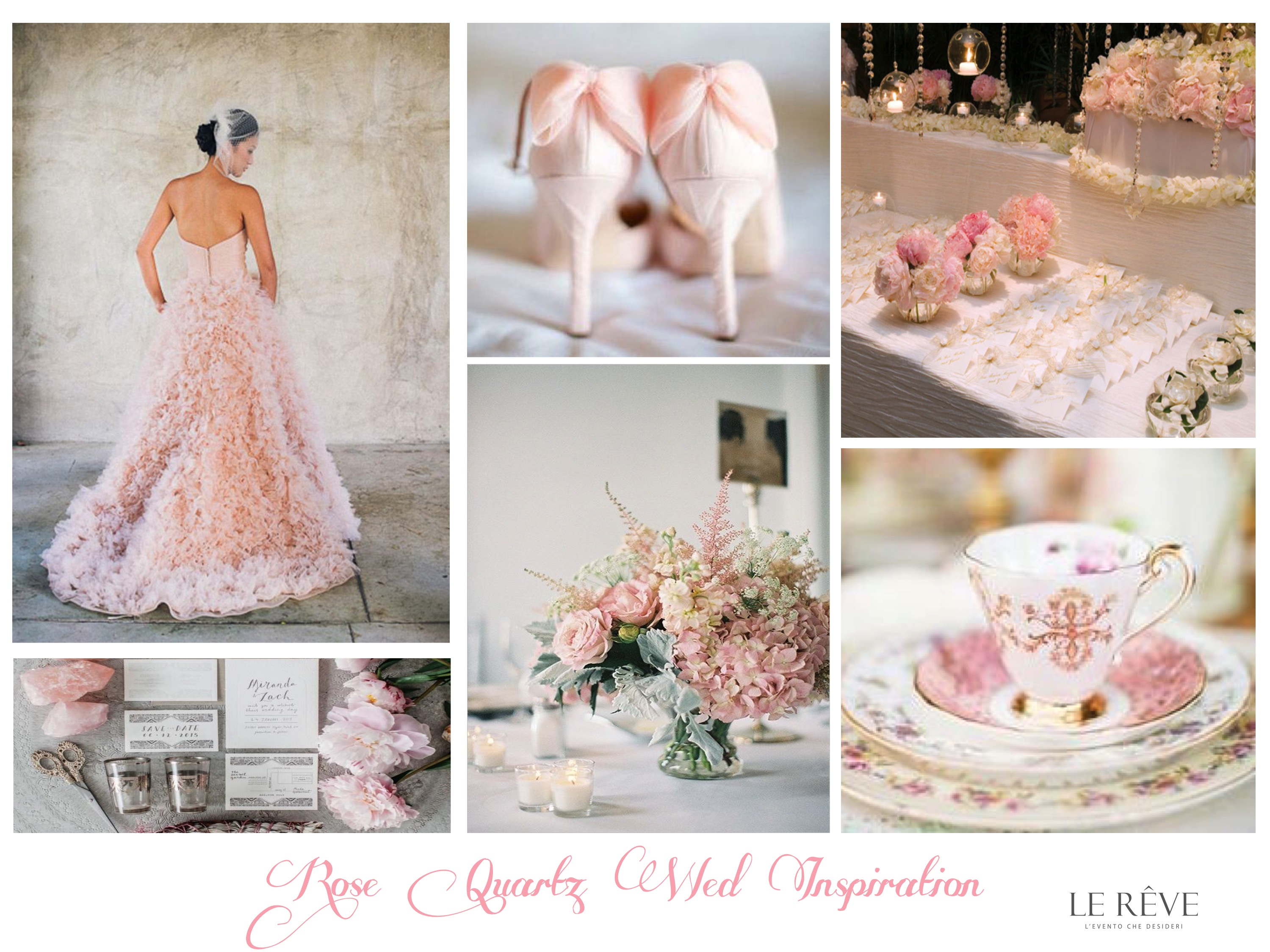 pantone trend color 2016: Rose quartz